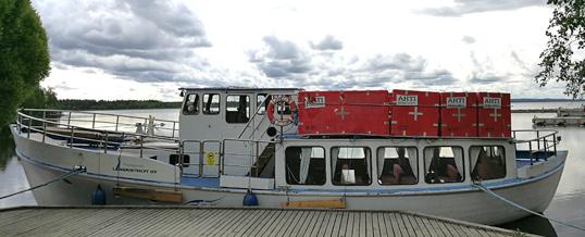 Matkustajalaivaristeilyt alkavat jälleen Pyhäjärvellä