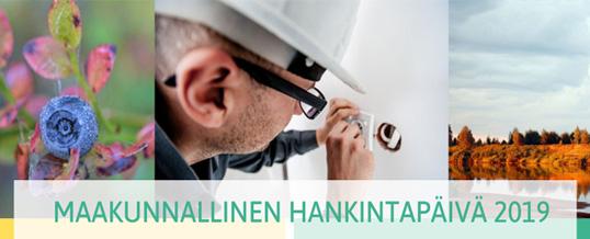 Maakunnallinen hankintapäivä 31.10.2019 klo 8:30-16:30 Oulussa