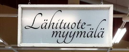 A new store opened for local products in Pyhäjärvi