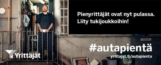 Yrittäjien #ostapieneltä-ryhmä auttaa osaltaan selviytymään koronahelvetistä