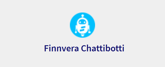 Finnveran korona-koostesivulle on tuotu chattibotti, joka neuvoo lyhennysvapaan, lisärahoituksen tai maksumuistutusten kanssa.