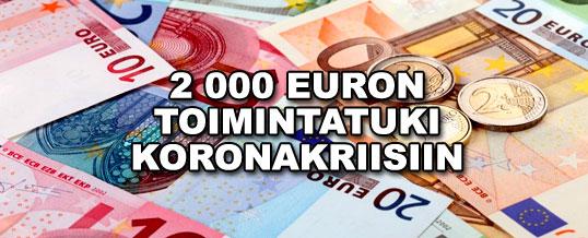 Yksinyrittäjille 2 000 euron toimintatuki koronakriisiin – haku avautuu mahdollisimman pian