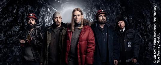 Pyhäjärvellä pääosin kuvattu White Wall -draamasarja pyörii jo Ruotsin televisiossa SVT1 kanavalla